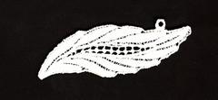 1 Stück Guipurespitzen 28 x 75 mm