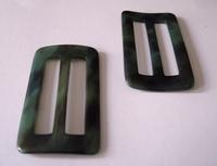 Gesp - groen 61 mm
