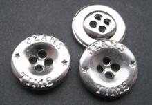 Jeansknoop - Glans 13 mm
