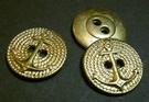 Ankerknoop-goudkleur 17 mm