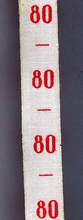 measure - ribbon maat 80