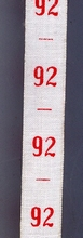 measure - ribbon maat 92