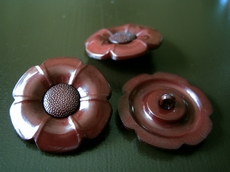 Flower - Button 24 mm
