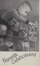 Postkart - Urk 14 x 9 cm