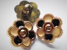 Gold-Knoop 15 x 9 mm
