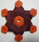 Iron yarn - bordeauxred