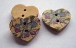 Hartje bloem 18 x 15 mm