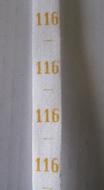 measure - ribbon Maat 116
