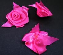 1 Roosje - Donkerrose 27 mm