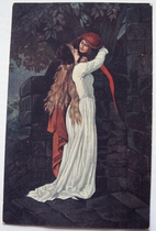 Romeo und Julia 14 x 9 cm