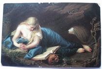 Büssende Magdalena 14 x 9 cm