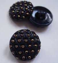 Glasknoop - paars/blauw 18 mm