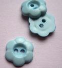 Bloemknoop - lichtblauw 12 mm