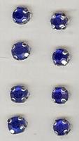 Strass - blauw 5 mm