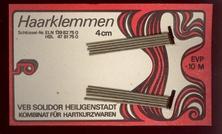 10 Haarklemmen 5,5 x 9,5 cm
