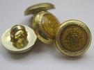 Gold-Knoop 12 mm