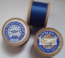Nylongaren van Onijx  - blauw H 24 x Br 33 mm