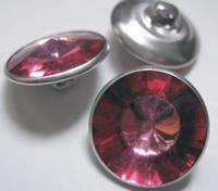 Strassknoop - fuchsia 21 mm