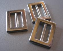 Silver color 15 x 12 mm