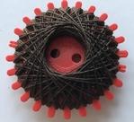 Iron yarn - brown