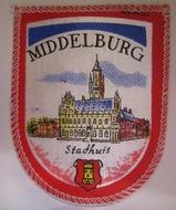 Embleem - Middelburg 73 x 58 mm