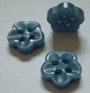 Bloemknoop - blauw 10 mm
