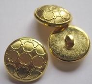Gold-Knoop 21 mm