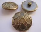Gold-Knoop 15 mm