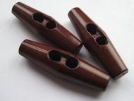 HTR - Knoop - Bruin 43 mm