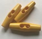 HTR - Knoop - geel 43 mm