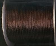 Koord 15 - donkerbruin 2 mm