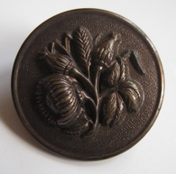 1 Button - Antique Button 30 mm